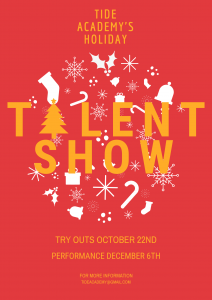 Holiday Talent Show Auditions