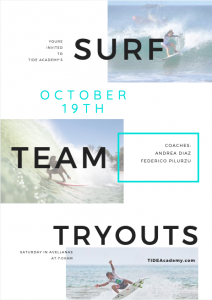 Surf Team Try Outs @ Playa Avellanas
